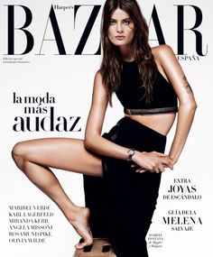 Harper's Bazaar Spain April 2015 | Isabeli Fontana by Alique [Fashion]