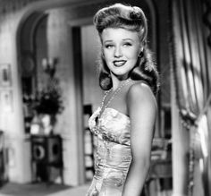 "Ginger Rogers in ""Once Upon A Honeymoon"" (1942)"