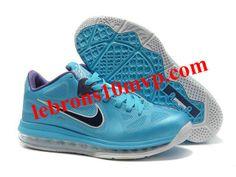 best website 4edb6 eb9d5 Nike Air Max Lebron 9(IX) Low Shoes Blue Purple Lebron 9 Shoes