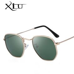 68b1fde93b5 Xiu Brand Men S Polarized Sunglasses Vintage Mirror Smoke Black Brown