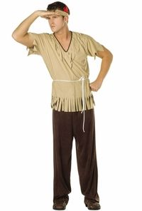 adult male indian costume #thanksgiving