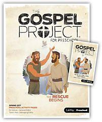 The Gospel Project for Preschool: Preschool Leader Kit - Spring 2017 | LifeWay Christian Bible Study Accessory