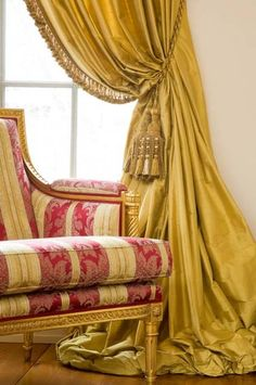Lovely window treatment ~ Green Door Interiors | Interior Design and Decorating in Blue Bell, PA