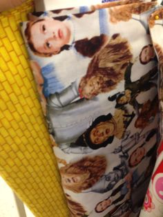 Wizard of oz fabrics.... nice!