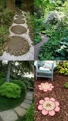 A Whole Bunch Of Beautiful & Enchanting Garden Paths - Style Estate - Garden Gates, Garden Art, Garden Ideas, Front Yard Design, Path Ideas, Outdoor Projects, Outdoor Ideas, Outdoor Landscaping, Dream Garden