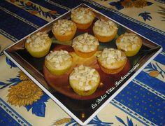Muffins alle #mandorle e #albicocche, sofficissimi, senza burro e senza uova!!