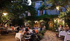 Les Mas Tourteron Restaurant, Gordes, Apt, Vaucluse, Provence-Alpes-Côte d'Azur, France