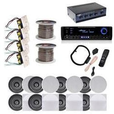 Other Home Stereo Components New Pyle 4 Pairs Of 525 150W In