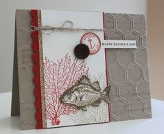 Nautical Masculine Card by Anna Keyes