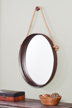 Nautical Mirror.