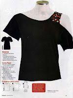 Customização de camiseta! Transforme uma camiseta promocional em uma linda blusa!