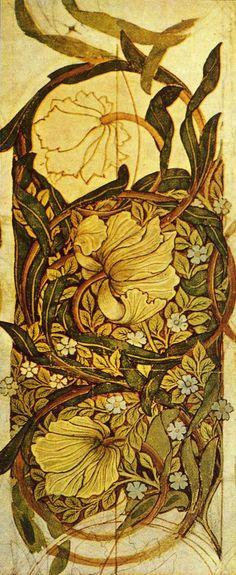 'Pimpernel' wallpaper design by William Morris, produced by Morris &. - 'Pimpernel' wallpaper design by William Morris, produced by Morris &… - William Morris Wallpaper, William Morris Art, Morris Wallpapers, Floral Wallpapers, Vintage Wallpapers, Textile Design, Textile Art, Art Japonais, Art And Craft Design