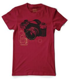 Tons of really cool camera T-shirts from Dodge & Burn.