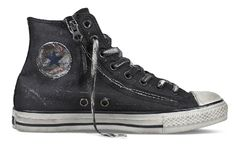 John Varvatos for Converse Chuck Taylor 'Canvas Double Zipper'