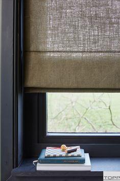 Window Coverings, Window Treatments, Roman Blinds, Roman Shades, Beach House, Windows, Curtains, Interior, Home Decor
