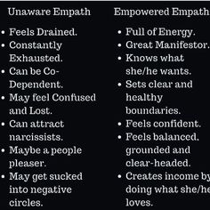 Venus Aviv - An educated Empath is an empowered Empath. 👊🏽👊🏾👊🏿 - - - - - - Everything changed when I empowered myself. Self love, firm boundaries and a lot of self care. Self awareness will change your life! Empath Traits, Intuitive Empath, Empath Abilities, Psychic Abilities, Infp, Introvert, Feeling Drained, Self Awareness, Thing 1