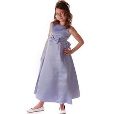 Flower Girl Dress PERIWINKLE Special Occasion Jr. Bridesmaid SOPHIAS STYLE 2-14 (Apparel)  http://www.1-in-30.com/crt.php?p=B0012LG0EG  B0012LG0EG