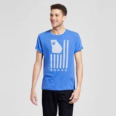 Men's Atlanta Union Flag T-Shirt Xxl - Blue