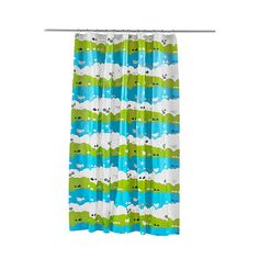 IKEA - LINDÅN, Shower curtain, Can be easily cut to the desired length.