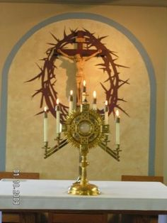 Eucharistic Adoration alone with Our Lord - the best time you will spend on earth - come hurry - He is waiting