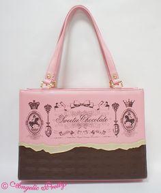 Angelic Pretty Royal Creamy Chocolateトートバッグ