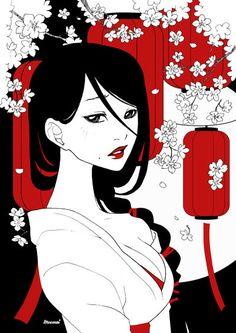 Sakura by Moemai.deviantart.com on @deviantART