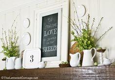 Summer Decorating | The Lettered Cottage