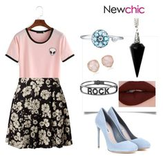 """""""TS↘"""" by lady-shadylady ❤ liked on Polyvore featuring WithChic, Miu Miu, BlackMoon, Monica Vinader and Spallanzani"""