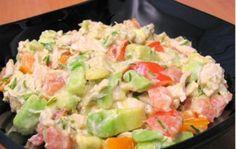 Авокадо. Рецепты праздничных салатов с авокадо | Домашние рецепты.ru