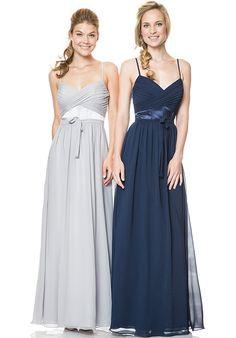 Bari Jay Bridesmaids 1518 V-Neck Bridesmaid Dress
