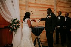 Jackson, TN Chic Barn Wedding - Black Southern Belle