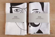 Man and Woman Tea Towels