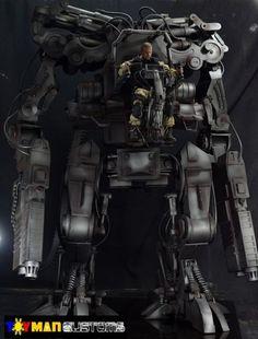The Matrix Apu Robot Machine 1/6 Scale Custom Action Figure (3 feet Tall)