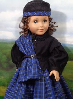 37e06821533 Mid 1800 s Highland Walking Suit with one piece dress