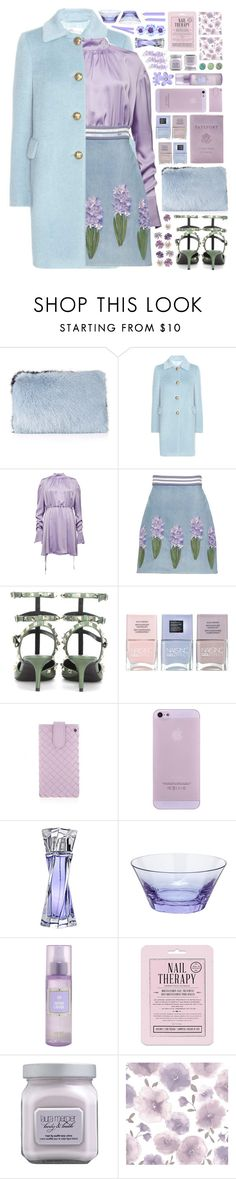 """""""  M o z a r t"""" by arierrefatir ❤ liked on Polyvore featuring Whistles, RED Valentino, Zuhair Murad, Valentino, Nails Inc., Bottega Veneta, Lancôme, Moser, Katie and Love 21"""