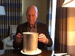 Patrick Stewart does his version of the ALS Ice Challenge   Mail Online