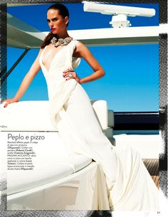 stile yacht: vanessa hegelmaier by roberto d'este for grazia italia 17th july 2013