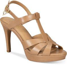 dd1ef2bef4ca8 Thalia Sodi Verrda Platform Dress Sandals, Created for Macy's Women's Shoes  Dress Sandals, Shoes