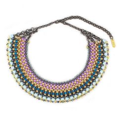 Sollis Jewellery - Large Geoge collar necklace