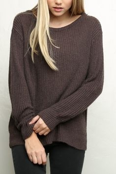 Brandy ♥ Melville   Leia Sweater - Clothing