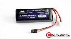 Accu LiPo Arrowmax TX/RX 2400mAh 2S