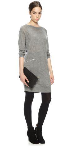 Isa Zip Pocket Dress