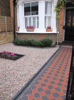 Garden patio tiles front porches Ideas - Garden Easy Garden patio tiles front porches 33 Ideas G Garden Shrubs, Terrace Garden, Shade Garden, Indoor Garden, Garden Pool, Porch Tile, Patio Tiles, Garden Tiles, Victorian Front Garden