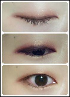 Korean makeup, monolid makeup, 무쌍 메이크업