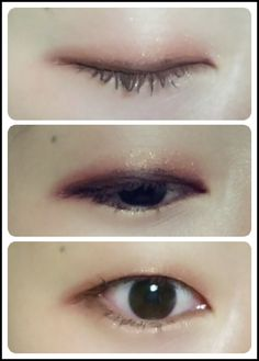 Korean makeup, monolid makeup, 무쌍 메이크업