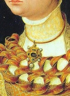 "On August 8, 1540, Katherine Howard was presented as queen to the English court. Henry VIII lavished gifts on his young bride, whom he called ""the very jewel of womanhood."" His records indicate he spent more on her than he had on any of his previous queens, though Katherine was only his wife for a short eighteen months."