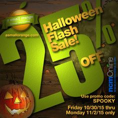 For a limited time only, A Small Orange is offering 25% off their already low prices with a Halloween Coupon Code Flash Sale! Use promo code above in your cart when you order. A Small Orange, Coupon Codes, Coupons, Cart, Coding, Symbols, Halloween, Covered Wagon, Coupon