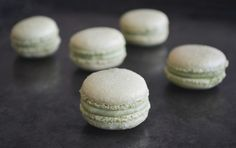 Avocado And Green Tea Macarons, a recipe on Food52