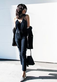 10 Remarkably Cool Outfits to Try Next Week via @WhoWhatWear