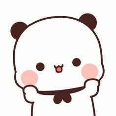 Cute Bunny Cartoon, Cute Cartoon Pictures, Cute Love Cartoons, Cute Cat Gif, Cute Images, Hello Cute, Bear Gif, Cute Couple Comics, Cute Bear Drawings
